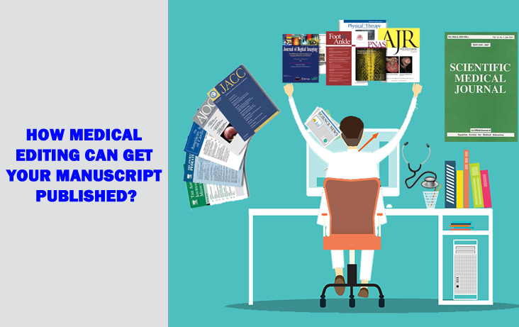 How Medical Editing Can Get Your Manuscript Published