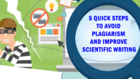 5 Quick Steps to Avoid Plagiarism and Improve Scientific Writing