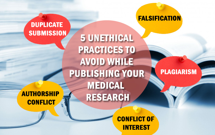 5 Unethical Practices to Avoid While Publishing Your Research