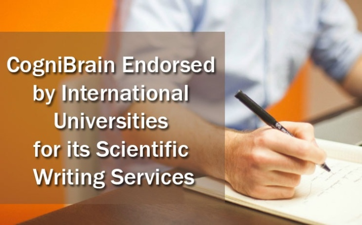 CogniBrain Endorsed by International Universities for its Scientific Writing Services