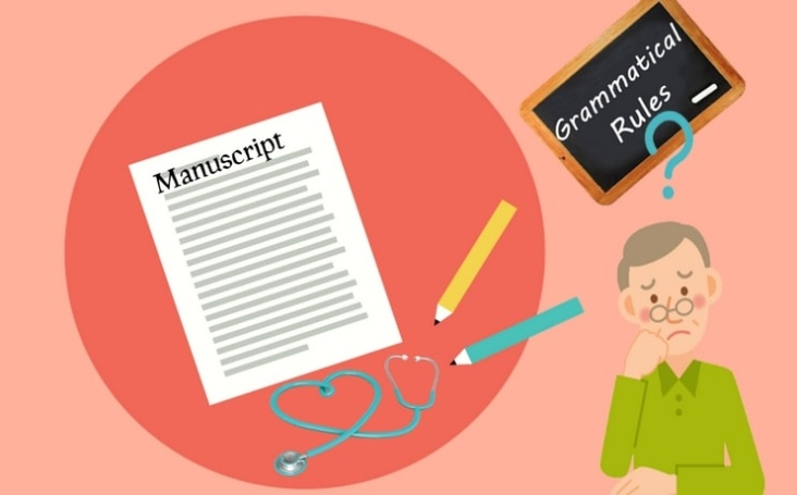 Medical manuscript writing - Know your grammar rules